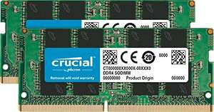 Crucial SODIMM DDR4 2666 CL19 - 32GB (2x 16GB) @Amazon.de
