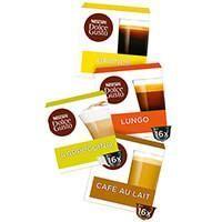 AH 3 verpakkingen Nescafe Dolce Gusto 16 stuks voor €9,99