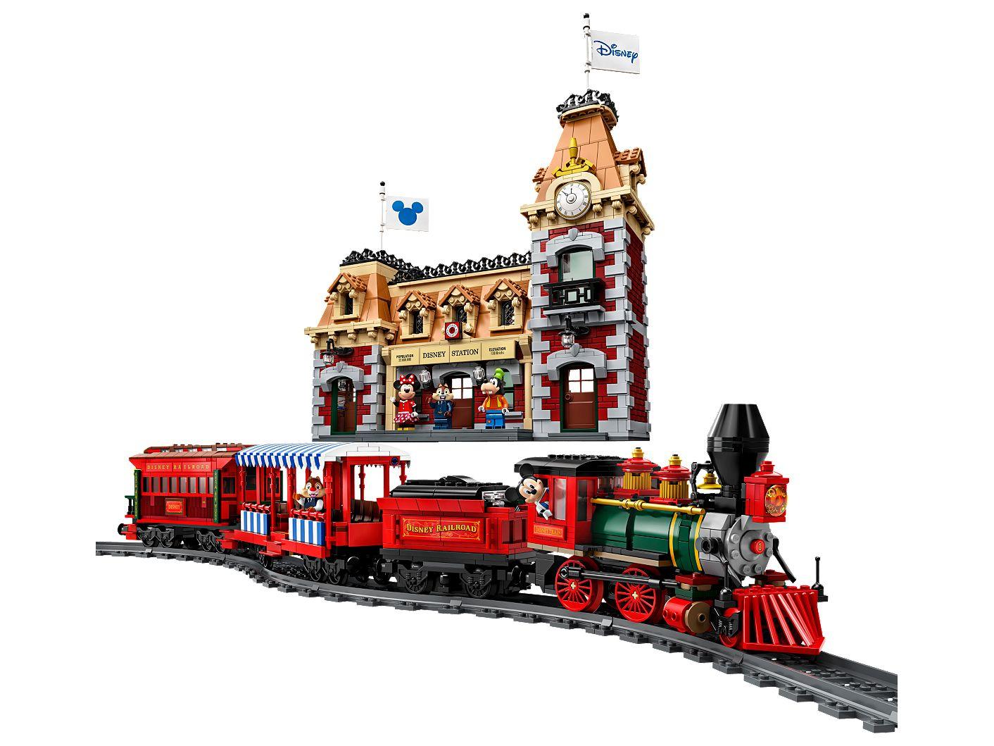 LEGO Disney trein en station (71044)