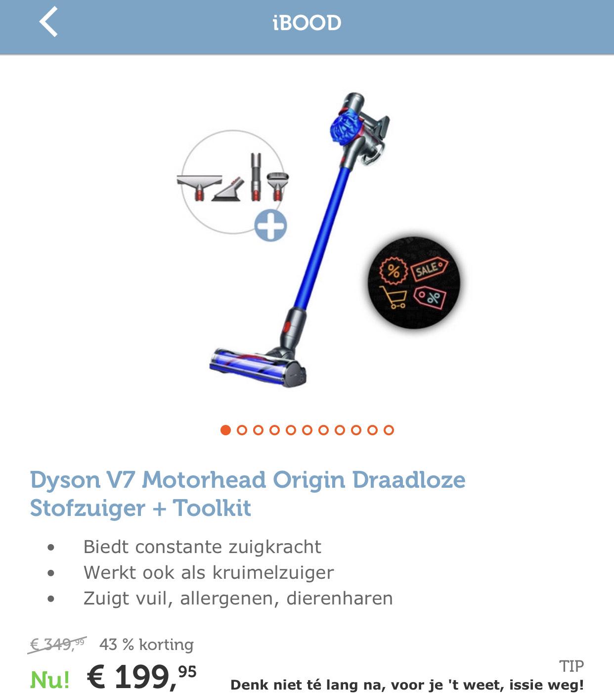 Dyson v7 motorhead + toolkit
