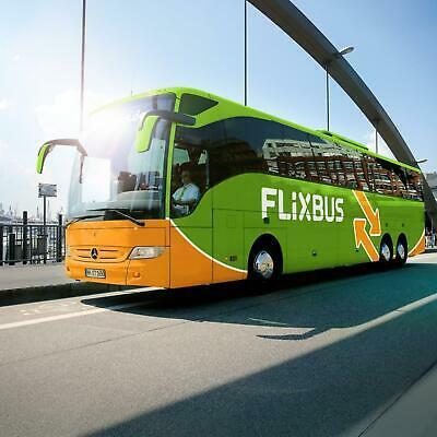 Busreis met de FlixBus - Meer dan 2000 bestemmingen in Europa (waarde tot €100)