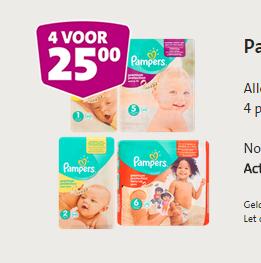 [UPDATE] 4 pakken Pampers voor €25 @ Jumbo (vanaf woensdag)