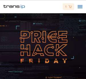 TransIP - Price Black Friday: hack je korting