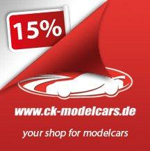 15% korting op je bestelling bij @CK-Modelcars