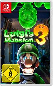 Luigi's mansion 3 switch game voor 43,99 @ amazon.de