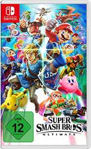 Super Smash Bros voor Switch 43,99 amazon.de