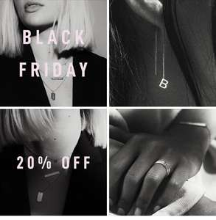 BLACK FRIDAY 20% korting op prachtige (gepersonaliseerde) sieraden bij Vedder&Vedder