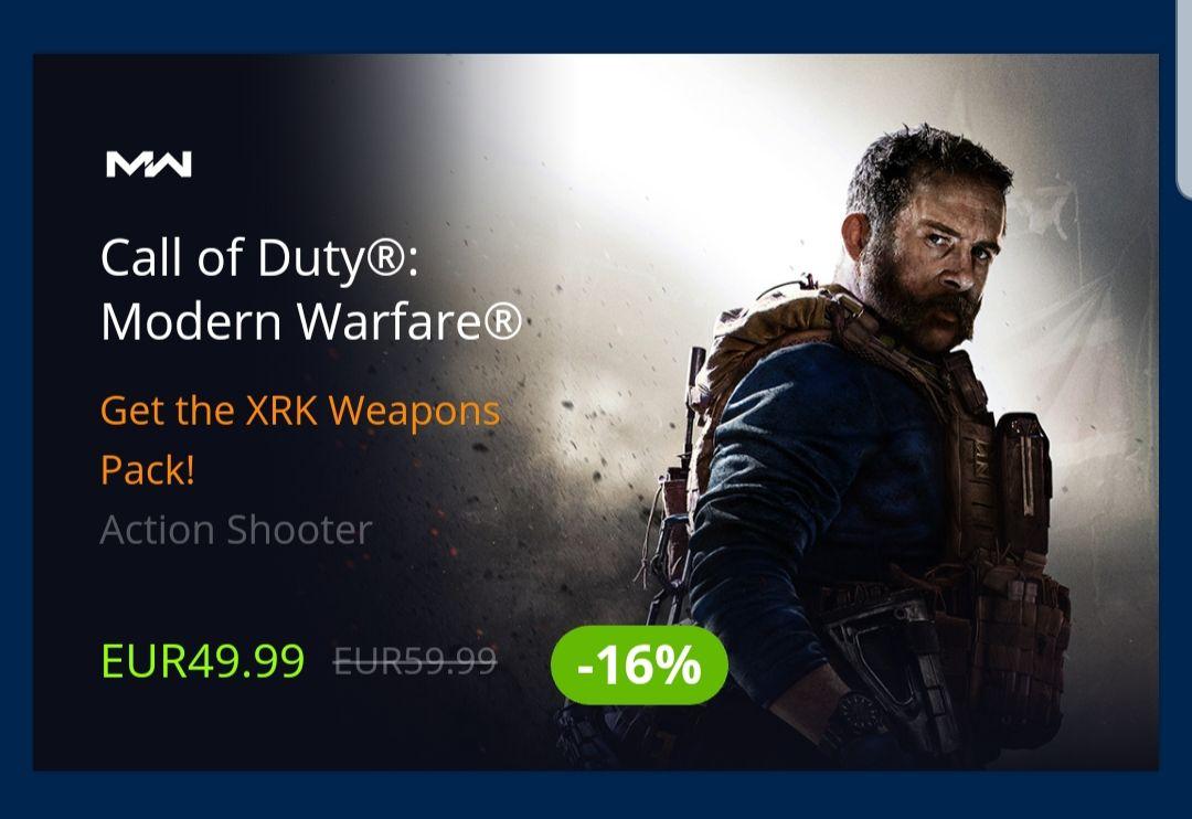 (PC) Call of Duty: Modern Warfare voor €49.99 (Standaard Editie)