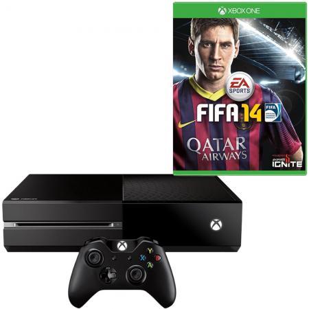 Xbox One (zonder Kinect) + FIFA 14 voor € 357,23 @ Redcoon
