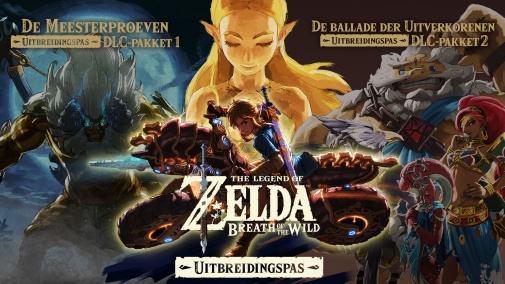 Zelda BOTW - DLC met 30% korting