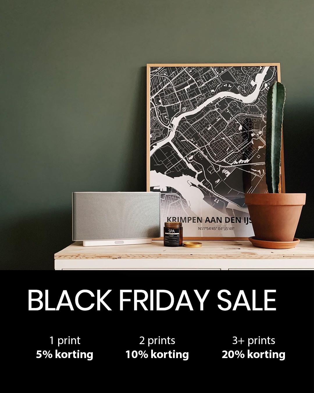 Tot 20% Black Friday Korting Op Design Posters @ Printmijnstad