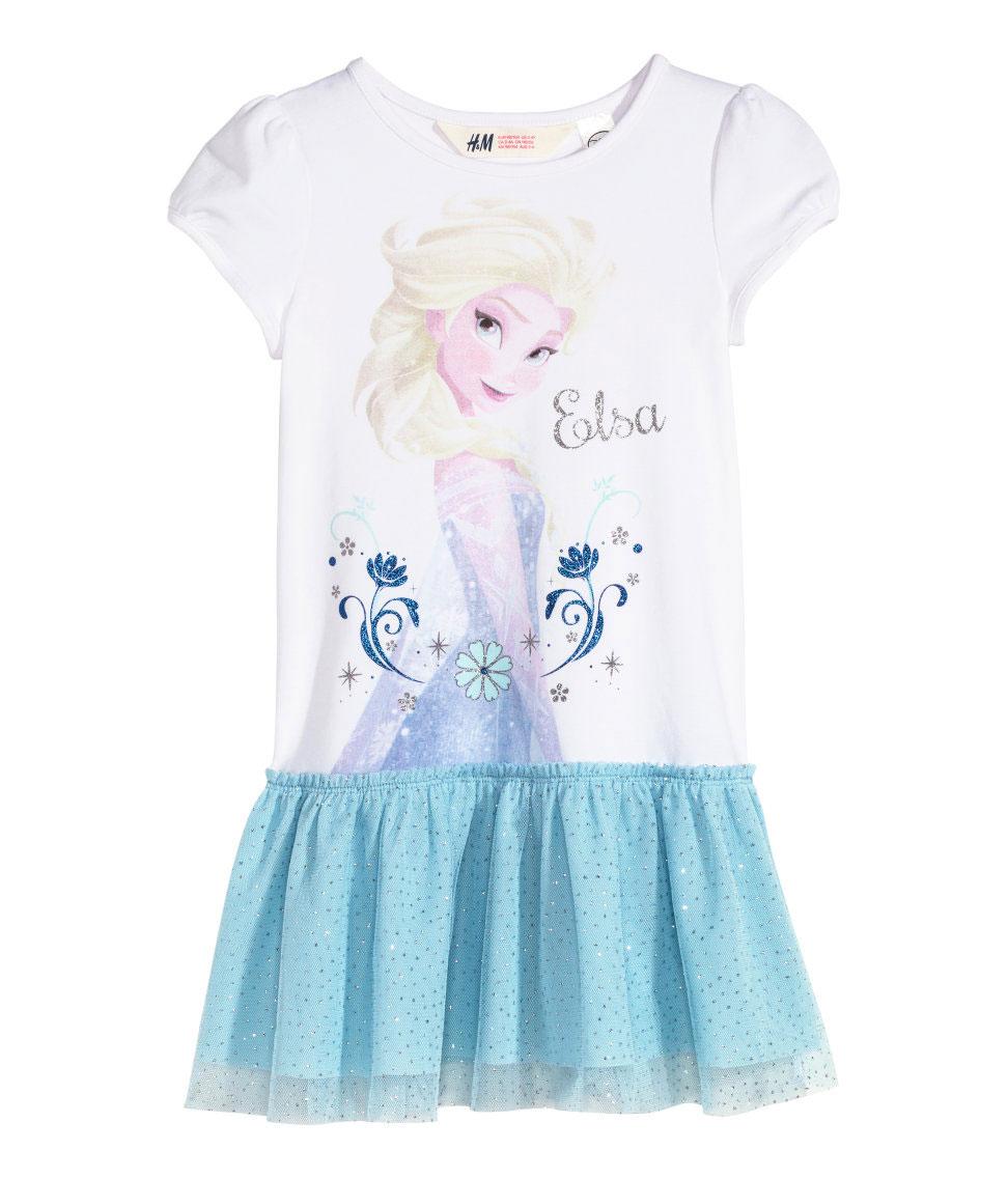 Frozen jurk €8,24 inclusief verzending @ H&M + veel meer FROZEN items