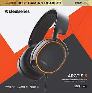 Steelseries Arctis 5 (2019 Edition) Zwart/Wit Gaming Headset