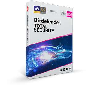 Bitdefender Total Security 2020 5 apparaten voor 1 jaar @Bitdefender