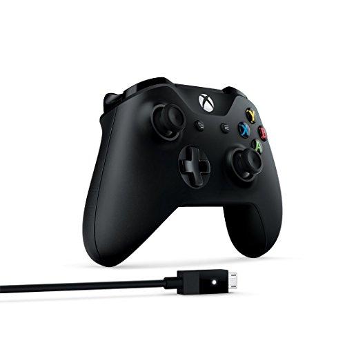 Xbox One draadloze controller (V2) + kabel voor Windows (€40,49 met 3 maanden Xbox Game Pass)