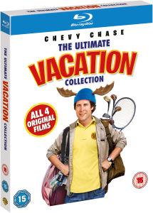 National Lampoon's Vacation  Blu-ray boxset - 4 films voor €12,59 @ Zavvi