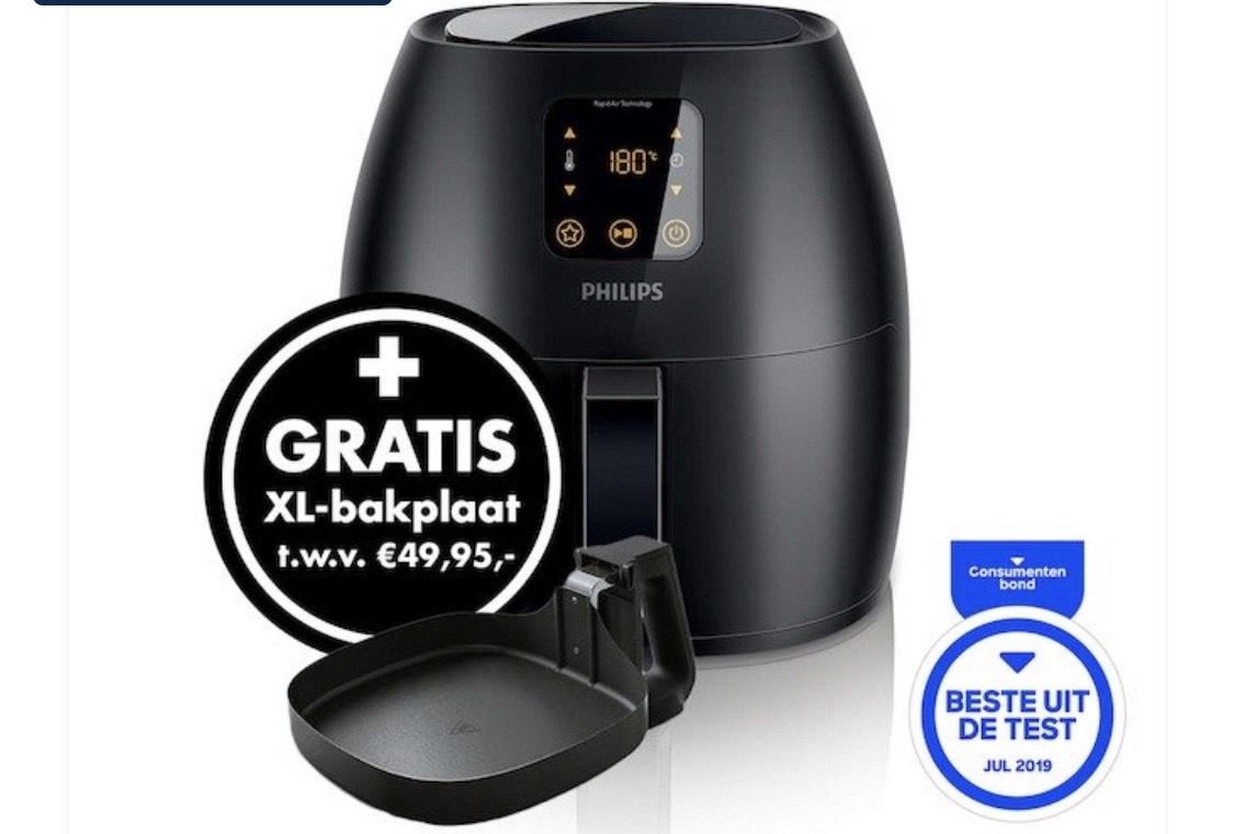 Philips Airfryer + XL bakplaat afgeprijsd!