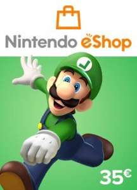 Nintendo Eshop digitale code (35 euro)