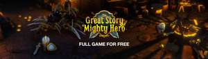 Gratis game The Great Story of a Mighty Hero - Remastered @Indiegala