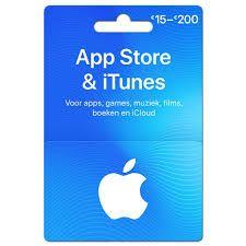15% bonus tegoed App Store en iTunes [NL&BE] @kruidvat [NL] @trekpleister