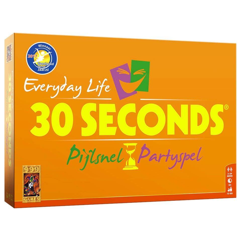 Partyspellen 30 seconds & 30 seconds everyday life