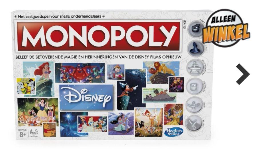 [lokaal!] Monopoly Disney/Wereldeditie van €50 voor €14,99!