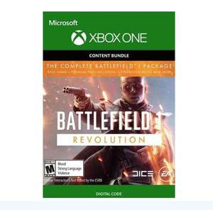 Battlefield 1 Revolution Digital Xbox