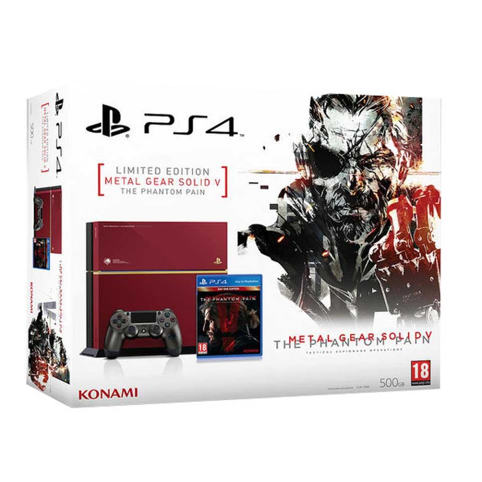 PlayStation 4 Limited Edition + Metal Gear Solid V: Phantom Pain voor €394 @ Bart Smit
