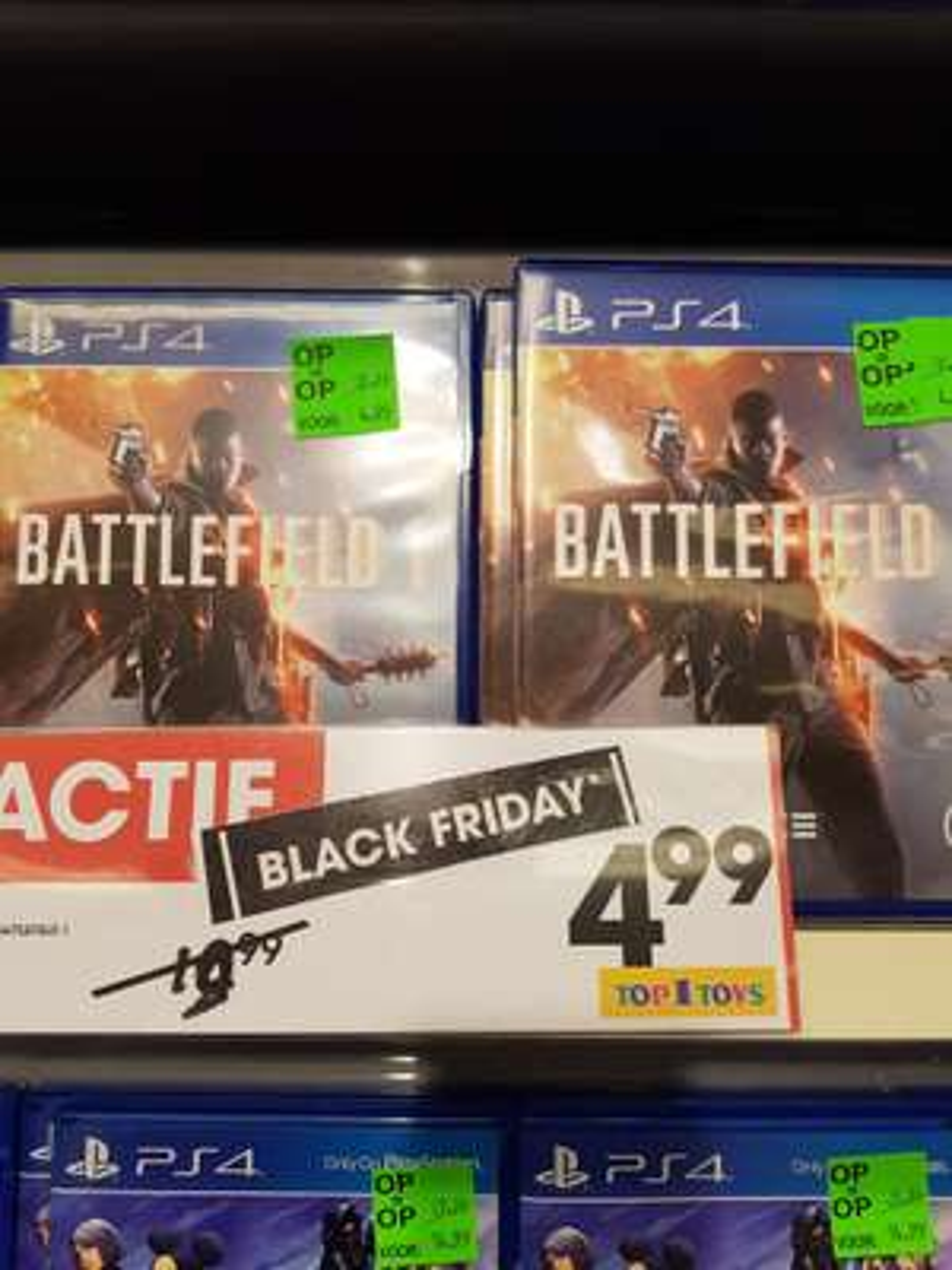 Battlefield 1 (fysiek) PS4 @ Top 1 Toys winkel