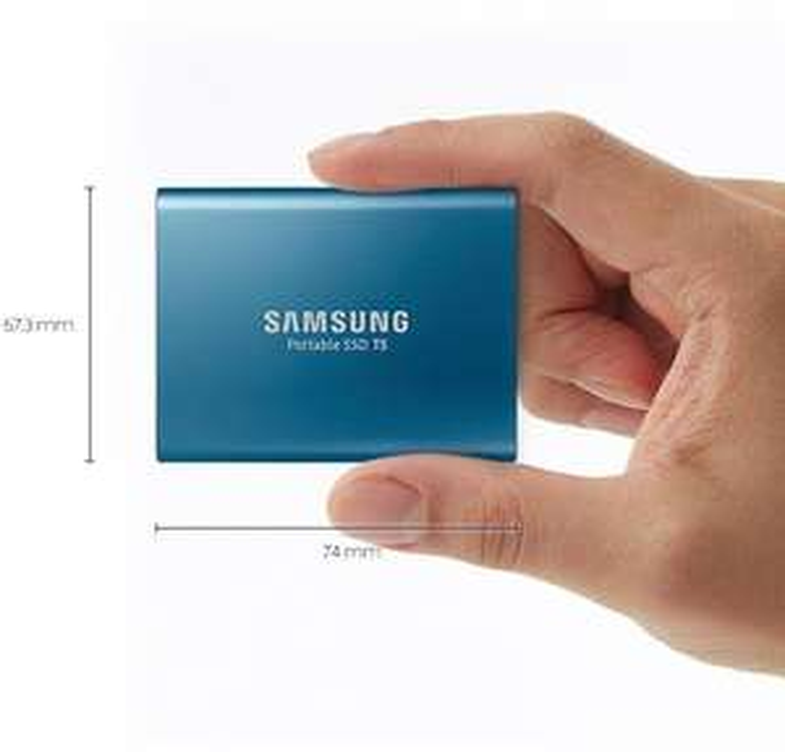 [Grensdeal] Samsung Portable SSD T5 500GB (3 kleuren) @Otto.de