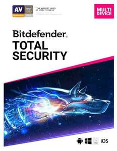 Bitdefender Total Security 2020 5 apparaten voor 1 jaar