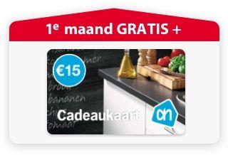 Gratis 1 maand meespelen + 15€ cadeaukaart AH bij Postcodeloterij