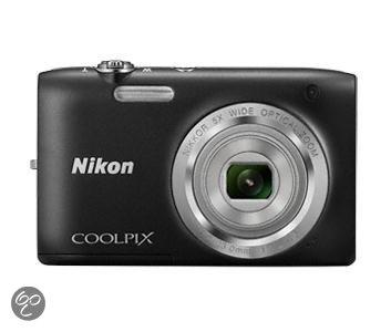 Nikon Coolpix S2800 camera voor € 69,99 @ Bol.com
