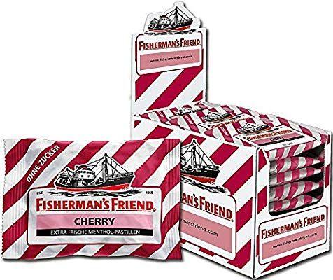 24 zakjes Fisherman's Friend (smaak naar keuze) voor 15 euro