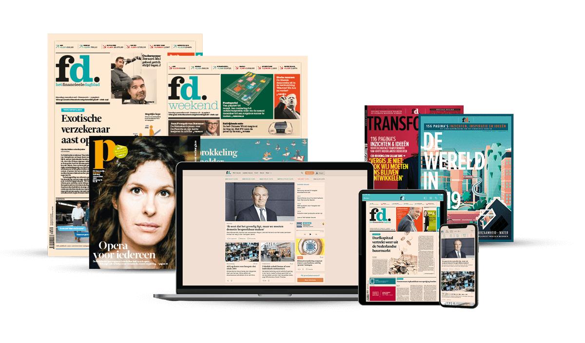 Financieel Dagblad 50%+ korting