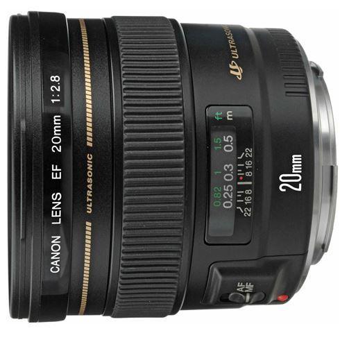 Canon EF 20mm f/2.8 USM