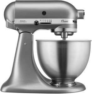 KitchenAid, Classic keukenmachine, zilverkleurig, 4,3 liter @Amazon.de