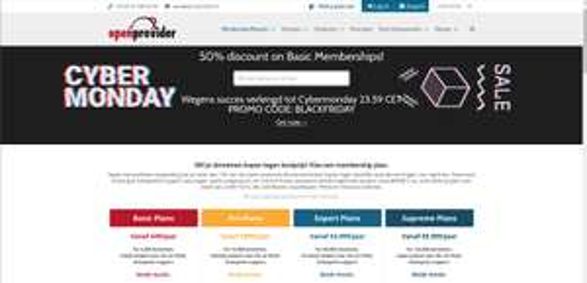 50% korting voor domeinregistraties tegen een kostprijs