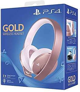 Sony PlayStation Gold Wireless Headset (Rose Gold) voor 57,18€ (Amazon UK)