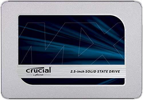 "CRUCIAL MX500 1TB interne SSD, 2.5"" SATA"