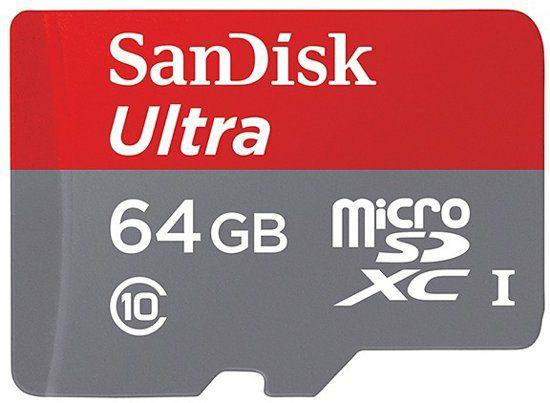 Sandisk ultra 64GB voor 9 euro