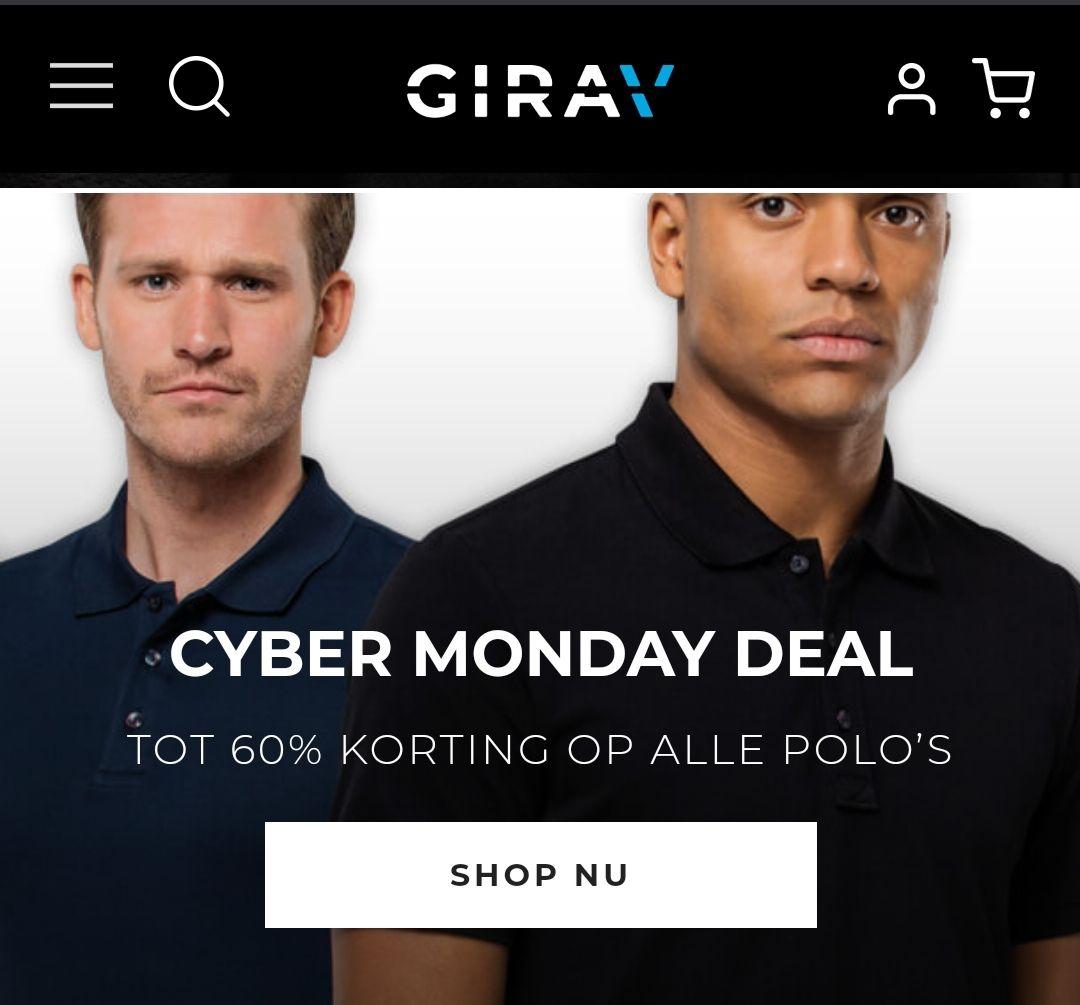 Girav - Cyber Monday - Lange maten Polo's
