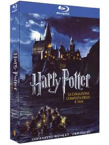 Harry Potter Complete Collection (8 Blu-Ray) voor €22,72 @ Amazon.it