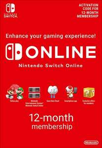 Nintendo Switch Online Membership - 12 Maanden eShop Key