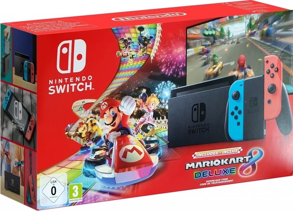 Nintendo Switch (2019) met Mario Kart 8 Deluxe