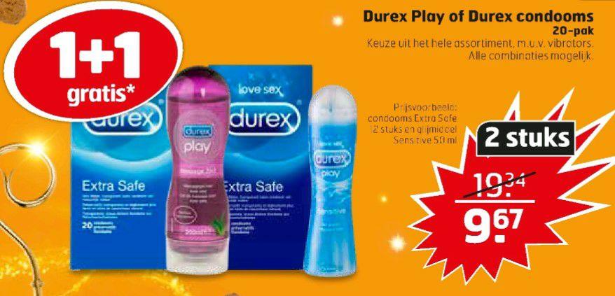 Durex 1+1 gratis @ Trekpleister