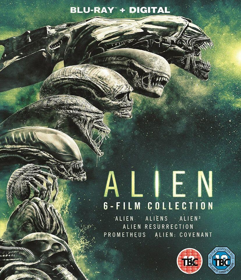 Alien 1-6 blu-ray boxset