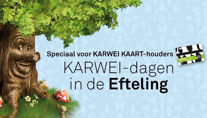Karwei-dagen bij de Efteling vanaf €7,95 voor kaart-houders @ Karwei