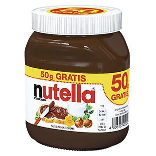 Grensdeal - Nutella 500 gram voor €1,79 bij real