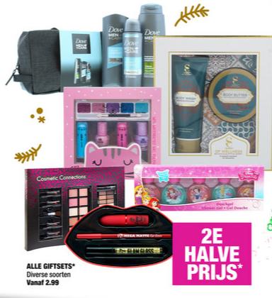 2e halve prijs op alle giftsets @ Big Bazar